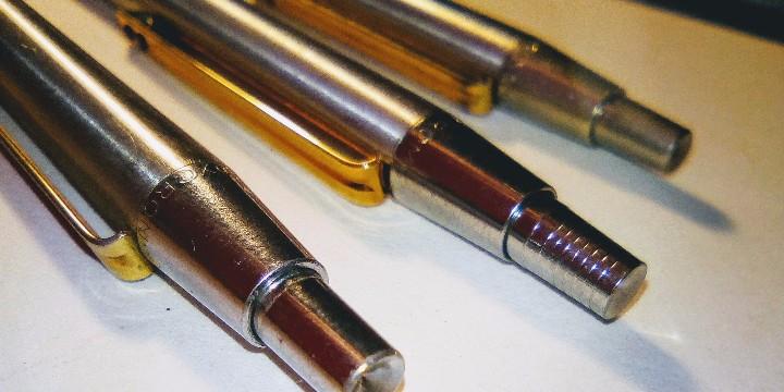 Estilográficas antiguas, bolígrafos y plumas: Lote Boligrafo y portaminas Inoxcrom 2001, en caja. Mas otro boligrafo inoxcrom 2001 - Foto 3 - 105701467