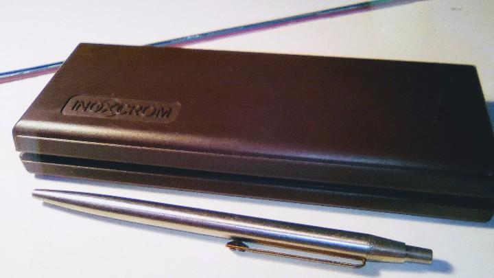Estilográficas antiguas, bolígrafos y plumas: Lote Boligrafo y portaminas Inoxcrom 2001, en caja. Mas otro boligrafo inoxcrom 2001 - Foto 5 - 105701467