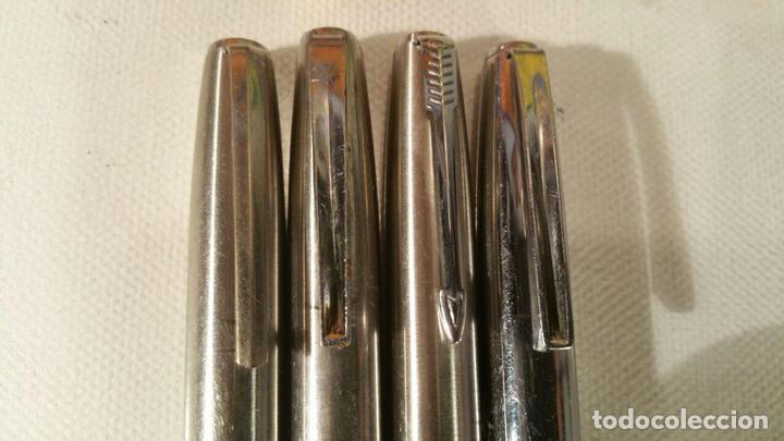 Estilográficas antiguas, bolígrafos y plumas: 4 PLUMAS PARKER DIFERENTES PARA COLECCIONISTAS - Foto 3 - 107748523
