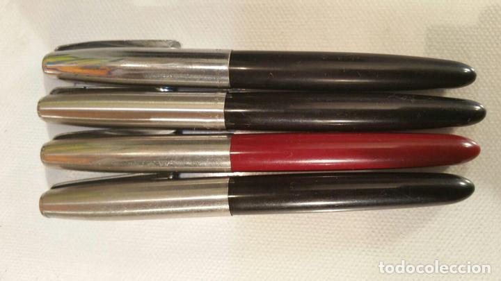 Estilográficas antiguas, bolígrafos y plumas: 4 PLUMAS PARKER DIFERENTES PARA COLECCIONISTAS - Foto 5 - 107748523