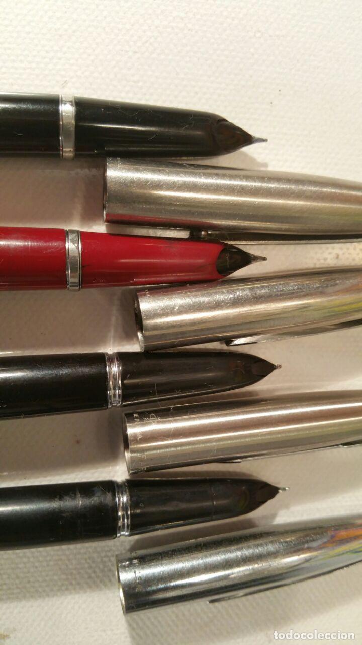Estilográficas antiguas, bolígrafos y plumas: 4 PLUMAS PARKER DIFERENTES PARA COLECCIONISTAS - Foto 6 - 107748523