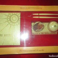 Estilográficas antiguas, bolígrafos y plumas: JUEGO ESCRITORIO-STYB-NOS-PRECINTADO-COLECCIONISTAS-VER FOTOS. Lote 108316655