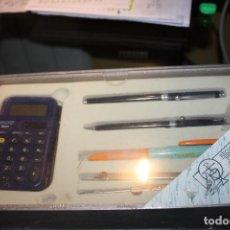 Estilográficas antiguas, bolígrafos y plumas: ESPECTÁCULAR JUEGO DE FACTIS A ESTRENAR. AÑOS 80.. Lote 110085519