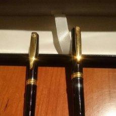 Estilográficas antiguas, bolígrafos y plumas: CONJUNTO PLUMA ESTILOGRAFICA Y BOLIGRAFO INOXCROM. Lote 110138903
