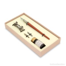 Estilográficas antiguas, bolígrafos y plumas: JUEGO ESCRITURA SET 14. Lote 110466355