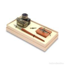 Estilográficas antiguas, bolígrafos y plumas: JUEGO DE ESCRITURA. SET 61.. Lote 110466755