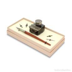 Estilográficas antiguas, bolígrafos y plumas: JUEGO DE ESCRITURA. SET 65.. Lote 110467403