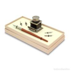 Estilográficas antiguas, bolígrafos y plumas: JUEGO DE ESCRITURA. SET 41. Lote 110467587