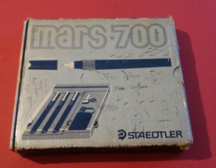 Estilográficas antiguas, bolígrafos y plumas: mars 700 staedtler caja original - Foto 2 - 112760975