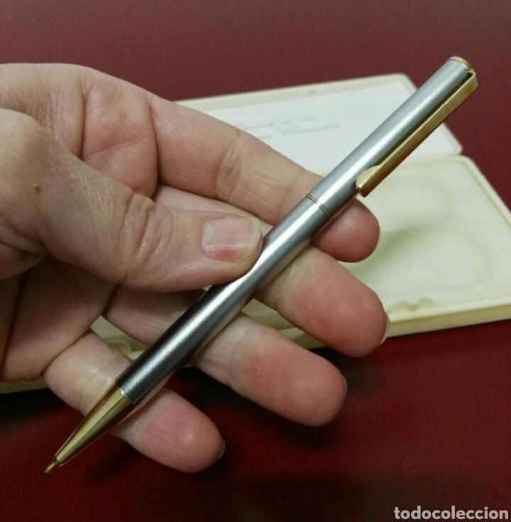 Estilográficas antiguas, bolígrafos y plumas: Bolígrafo y llavero recuerdo de comunión - Foto 8 - 114662575
