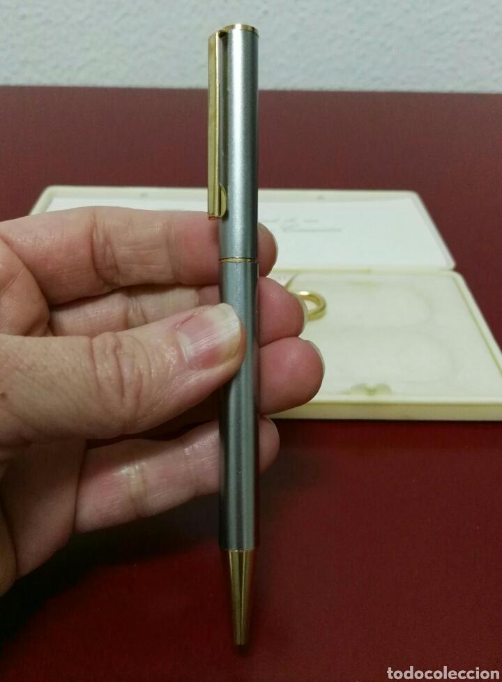 Estilográficas antiguas, bolígrafos y plumas: Bolígrafo y llavero recuerdo de comunión - Foto 9 - 114662575