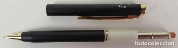 Estilográficas antiguas, bolígrafos y plumas: CONJUNTO DE BOLÍGRAFO Y PORTAMINAS. SHEAFFER. MODELO 60. CAJA ORIGINAL. AÑOS 80. - Foto 5 - 114959939