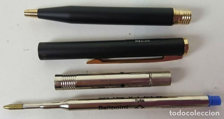 Estilográficas antiguas, bolígrafos y plumas: CONJUNTO DE BOLÍGRAFO Y PORTAMINAS. SHEAFFER. MODELO 60. CAJA ORIGINAL. AÑOS 80. - Foto 6 - 114959939