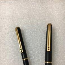 Estilográficas antiguas, bolígrafos y plumas: PLUMA ESTILOGRÁFICA Y BOLÍGRAFO INOXCROM. Lote 115609742
