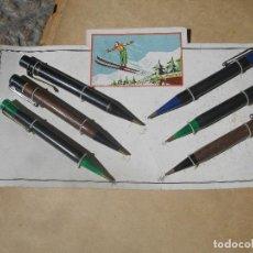 Estilográficas antiguas, bolígrafos y plumas: BLISTER DE 6 PORTA MINAS - PORTAL DEL COL·LECCIONISTA *****. Lote 116622847