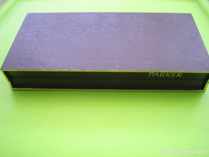 Estilográficas antiguas, bolígrafos y plumas: Estuche bolígrafo Y pluma Parker - Foto 2 - 117822651