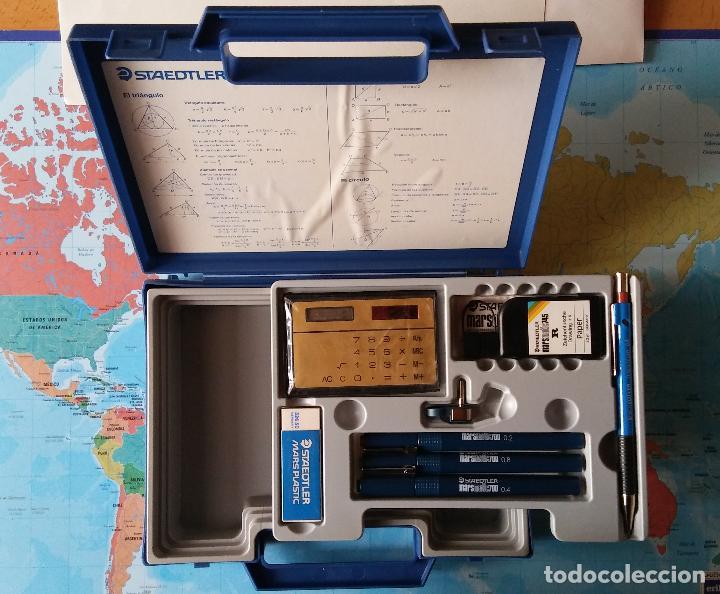 Estilográficas antiguas, bolígrafos y plumas: Conjunto plumas técnicas, portaminas, tinta china... Staedtler, - Foto 2 - 118889667