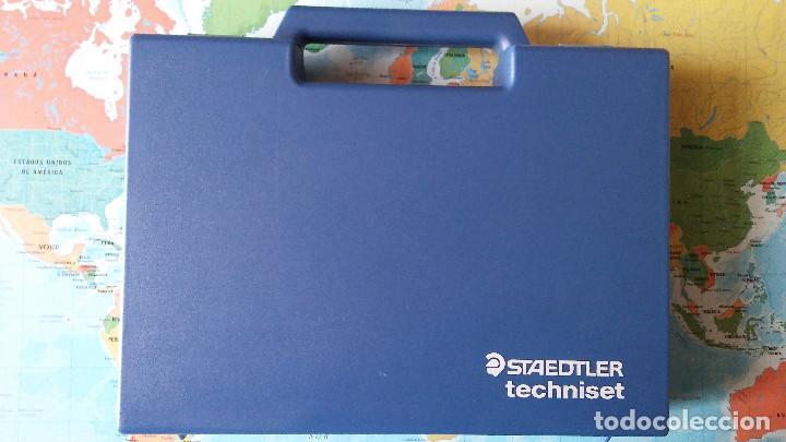 Estilográficas antiguas, bolígrafos y plumas: Conjunto plumas técnicas, portaminas, tinta china... Staedtler, - Foto 5 - 118889667