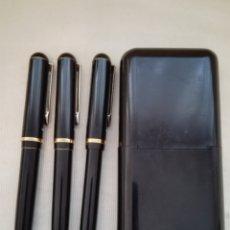 Estilográficas antiguas, bolígrafos y plumas: ANTIGUO ESTUCHE ESCRITURA MARKSMAN. Lote 120738612
