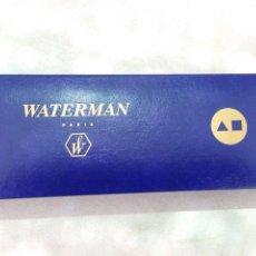 Estilográficas antiguas, bolígrafos y plumas - caja estuche para boligrafo o pluma waterman - 121491411