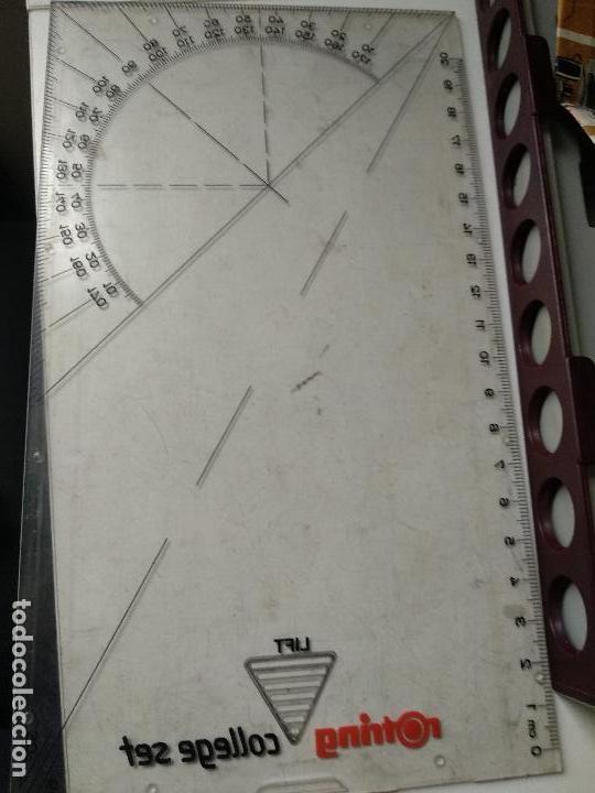 Estilográficas antiguas, bolígrafos y plumas: Estuche Estilografos Rotring College - Foto 3 - 122269735