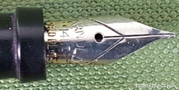Estilográficas antiguas, bolígrafos y plumas: CONJUNTO DE PLUMA Y BOLIGRAFO ARNOLD. MADE IN USA. CIRCA 1930. - Foto 3 - 122849919