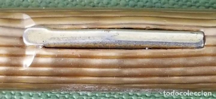Estilográficas antiguas, bolígrafos y plumas: CONJUNTO DE PLUMA Y BOLIGRAFO ARNOLD. MADE IN USA. CIRCA 1930. - Foto 6 - 122849919