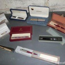 Estilográficas antiguas, bolígrafos y plumas: LOTE DE BOLIS INOXCRON VINTAGE. Lote 124575855