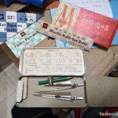 Estilográficas antiguas, bolígrafos y plumas: SET DE ESTUDIANTES ANTIGUO DE LOS AÑOS 80 MARCA BOFA. PERFECTO ESTADO. MADE IN REPÚBLICA DE . Lote 124659323