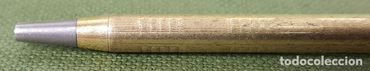 Estilográficas antiguas, bolígrafos y plumas: COLECCIÓN DE 3 PORTA MINAS. DOS DE ELLOS CON EL CUERPO DE PLATA. SIGLO XX. - Foto 9 - 126928379