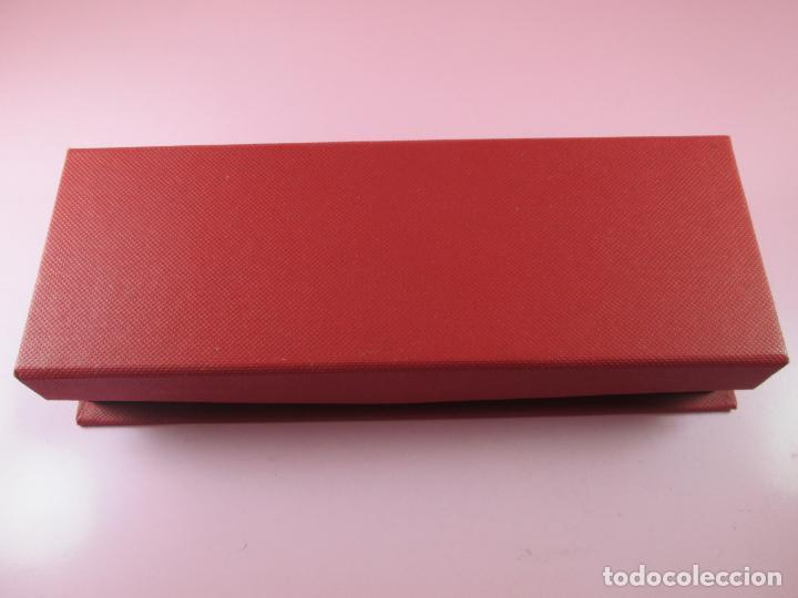 Estilográficas antiguas, bolígrafos y plumas: juego-bel bol-bolígrafo+portaminas-rojo translucent-nos-ver fotos - Foto 4 - 121387255