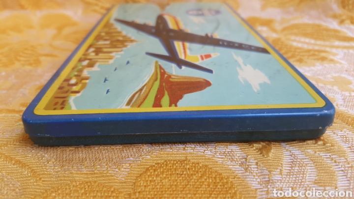 Estilográficas antiguas, bolígrafos y plumas: ANTIGUA CAJA METÁLICA DE LAPICEROS JOHANN FABER - Foto 5 - 131494042
