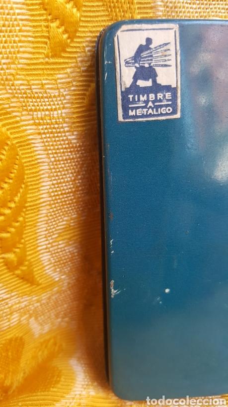 Estilográficas antiguas, bolígrafos y plumas: ANTIGUA CAJA METÁLICA DE LAPICEROS JOHANN FABER - Foto 9 - 131494042