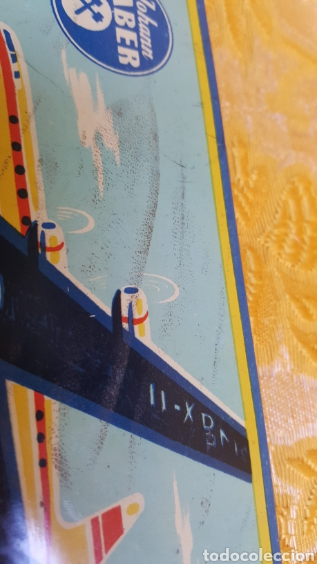 Estilográficas antiguas, bolígrafos y plumas: ANTIGUA CAJA METÁLICA DE LAPICEROS JOHANN FABER - Foto 11 - 131494042