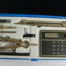 Estilográficas antiguas, bolígrafos y plumas: JUEGO DE COMPASES PARA DIBUJO MARCA SAMER- (#). Lote 133055194