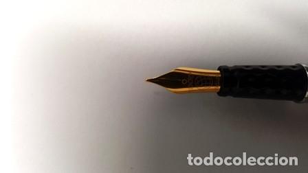 Estilográficas antiguas, bolígrafos y plumas: CONJUNTO DE PLUMA Y PORTA MINAS INOXCROM - 1/20 DE 14 K. GOLD FILLED - NUEVO SIN USO - - Foto 3 - 133871158