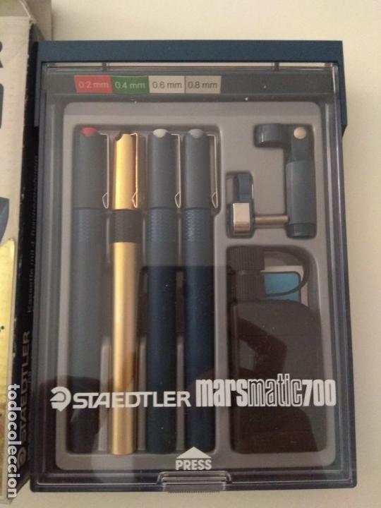 Estilográficas antiguas, bolígrafos y plumas: STAEDTLER MARSMATIC700 S4 - Foto 3 - 180279545