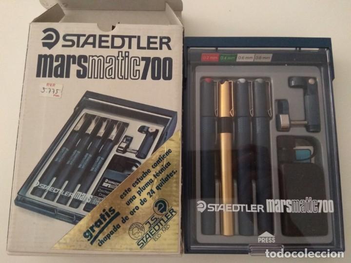 Estilográficas antiguas, bolígrafos y plumas: STAEDTLER MARSMATIC700 S4 - Foto 4 - 180279545