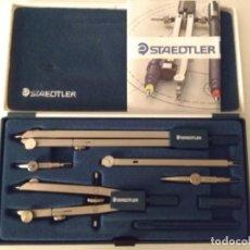 Estilográficas antiguas, bolígrafos y plumas: ESTUCHE STAEDTLER CICLO. Lote 134056786