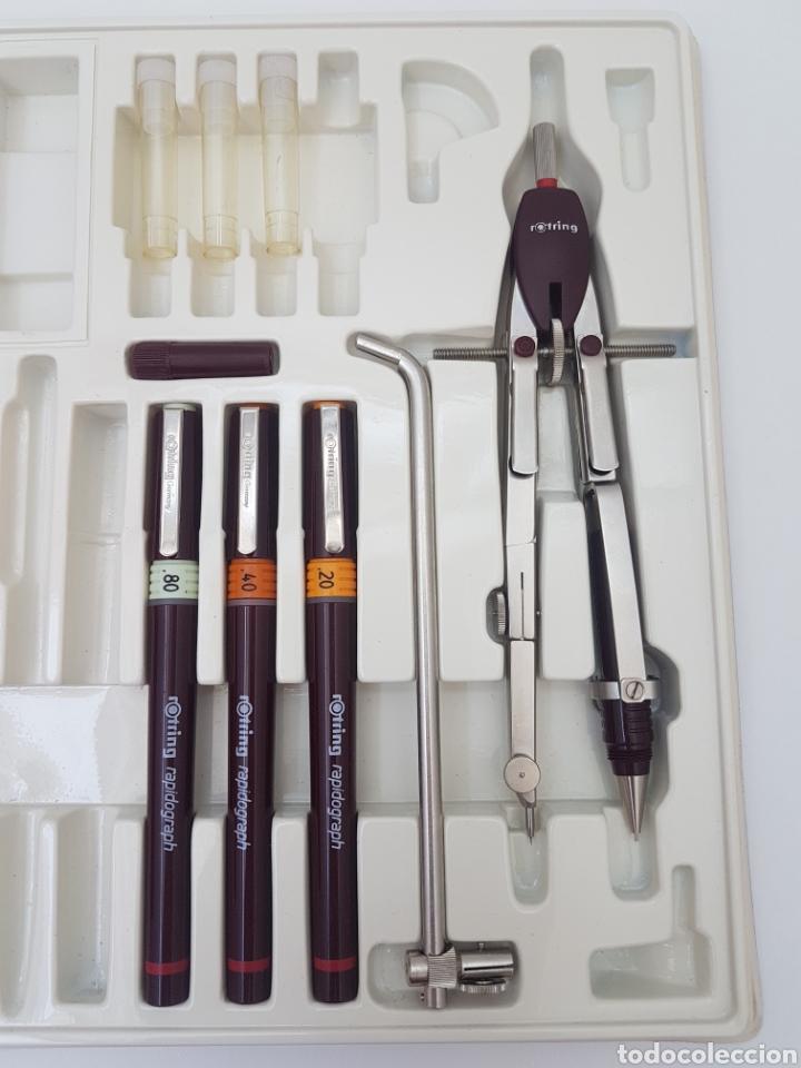 Estilográficas antiguas, bolígrafos y plumas: Rotring College Set - Foto 5 - 134894498