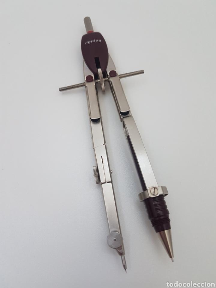 Estilográficas antiguas, bolígrafos y plumas: Rotring College Set - Foto 12 - 134894498