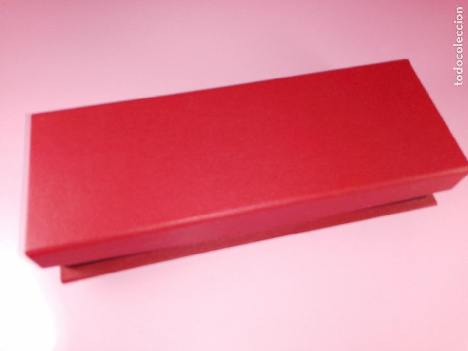 Estilográficas antiguas, bolígrafos y plumas: juego-bel bol-bolígrafo+portaminas-rojo translucent-nos-ver fotos - Foto 8 - 121387255