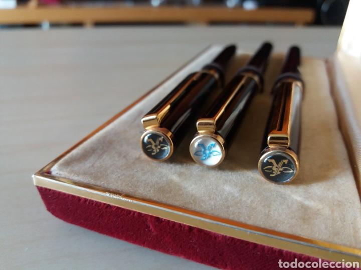 Estilográficas antiguas, bolígrafos y plumas: Conjunto de estilográfica, bolígrafo y rotulador, REFORM - Made in Germany - Foto 3 - 136364638