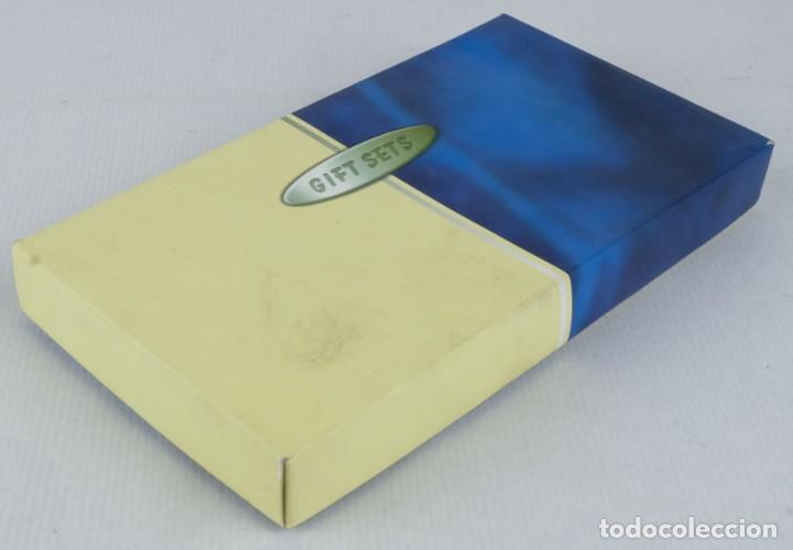 Estilográficas antiguas, bolígrafos y plumas: Estuche Gift Sets con boligrafo mechero y llavero - Foto 2 - 136637038