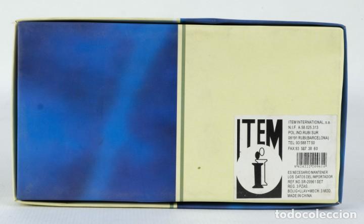Estilográficas antiguas, bolígrafos y plumas: Estuche Gift Sets con boligrafo mechero y llavero - Foto 3 - 136637038