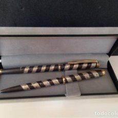 Estilográficas antiguas, bolígrafos y plumas: BOLÍGRAFO Y PLUMA. Lote 137347706