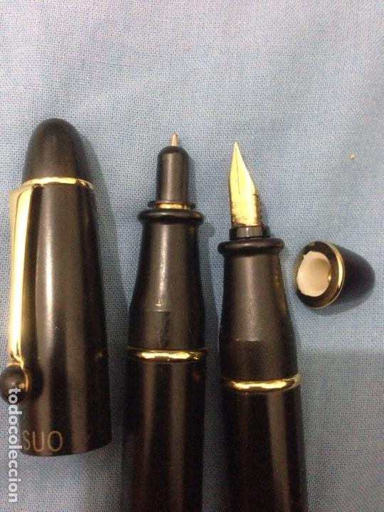 Estilográficas antiguas, bolígrafos y plumas: estilograficas yasuo - Foto 3 - 139040474