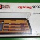 Estilográficas antiguas, bolígrafos y plumas: ROTRING 2000 NUEVO VARIANT ESTILÓGRAFOS. AÑOS 80. A ESTRENAR. Lote 139128478