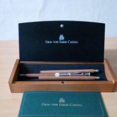 Estilográficas antiguas, bolígrafos y plumas: ESTUCHE DE LAPICES GRAF VON FABER-CASTELL. Lote 140174546
