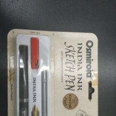 Estilográficas antiguas, bolígrafos y plumas: PLUMA OSMIROID. Lote 140896268